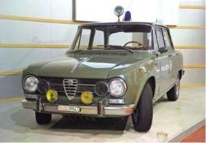 Museo delle auto della Polizia di Stato