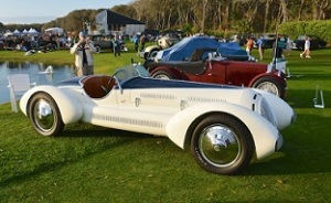 1931 Alfa Romeo 6C Grand Sport 1750 Aprile Spider at Amelia Island Concours