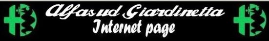 Registro Alfasud Giardinetta internazionale banner