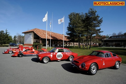 Ruoteclassiche 50 years Autodelta at Balocco.
